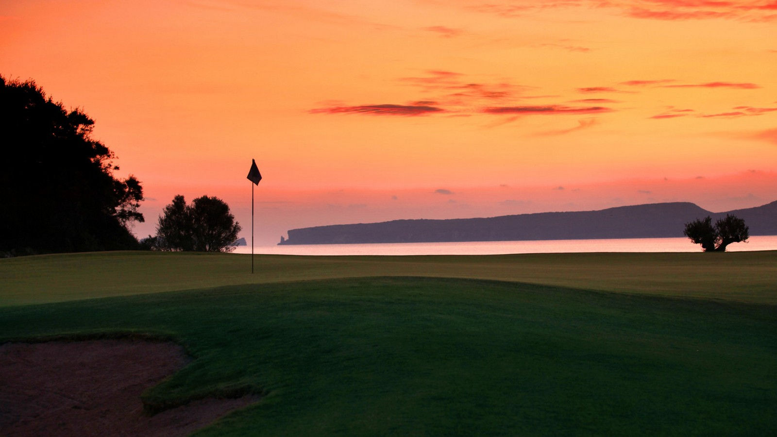 The Westin Resort Costa Navarino Messinia Greece Activities Golf The Bay Course Sunset View
