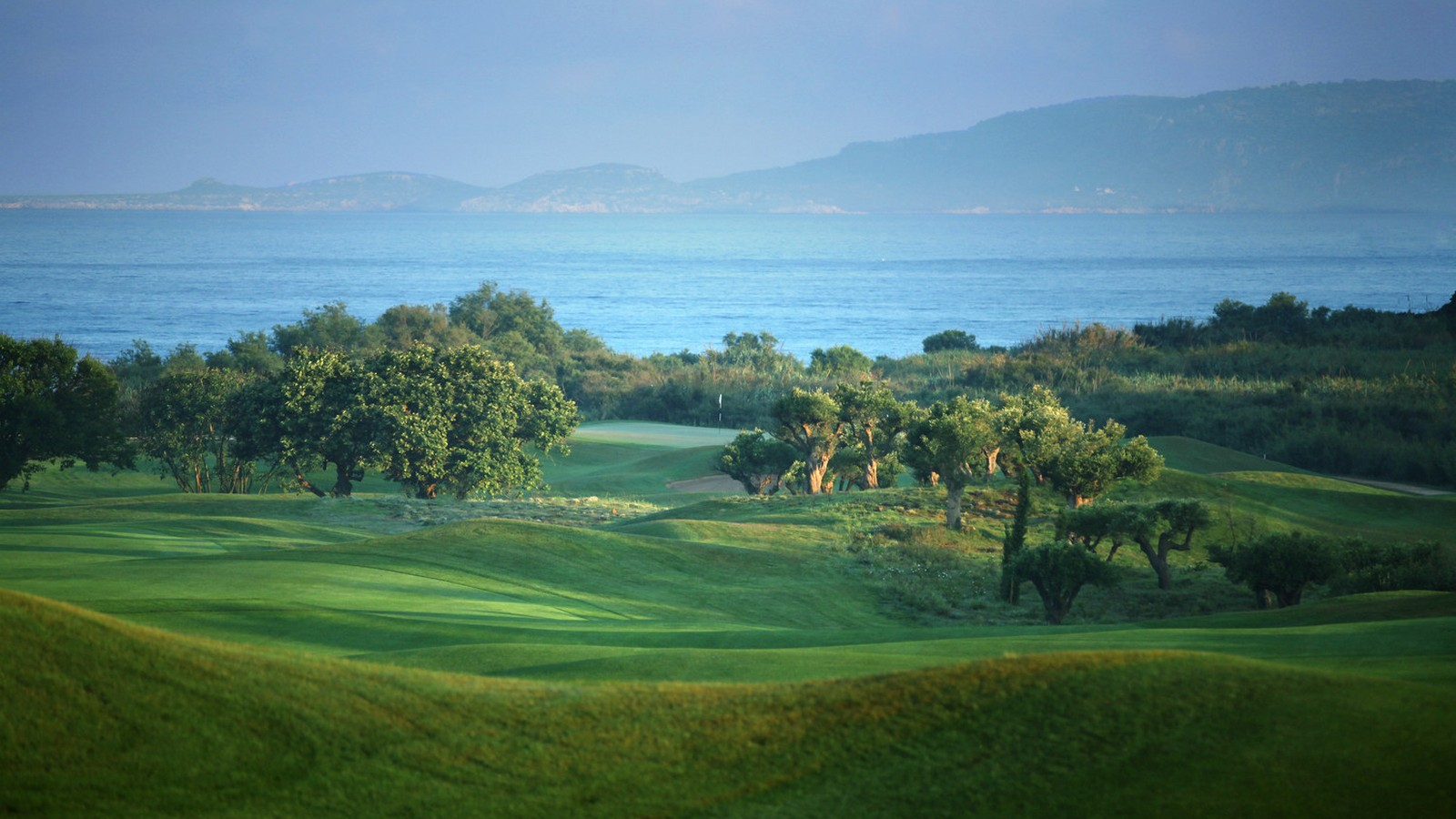 The Westin Resort Costa Navarino Messinia Greece Activities Golf The Dunes Course Sea View