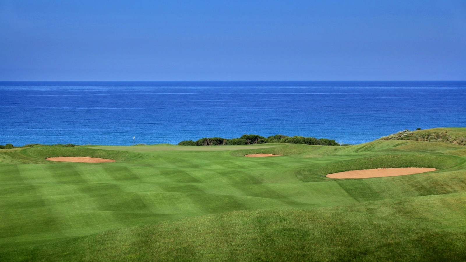 The Westin Resort Costa Navarino Messinia Greece Activities Golf The Dunes Course View