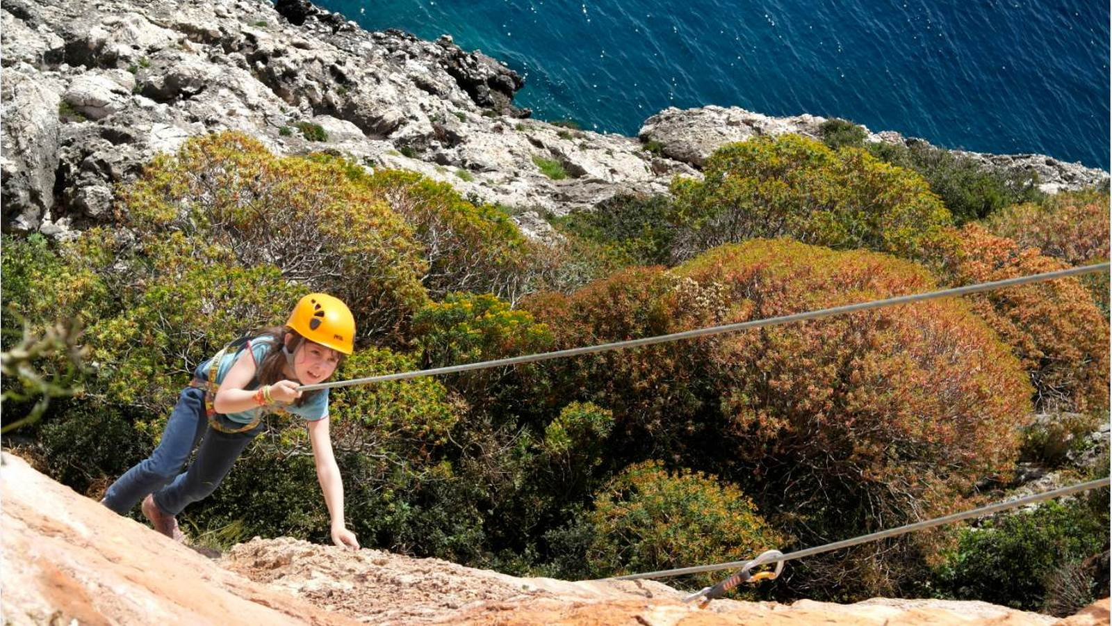 The Westin Resort Costa Navarino Messinia Greece Activities Navarino Outdoors Rock Climbing Kids