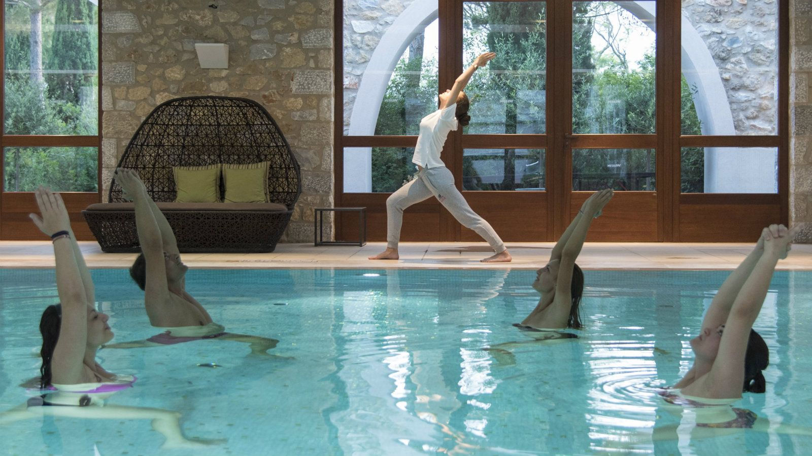 The Westin Resort Costa Navarino Griechenland -   Aqua Aerobic