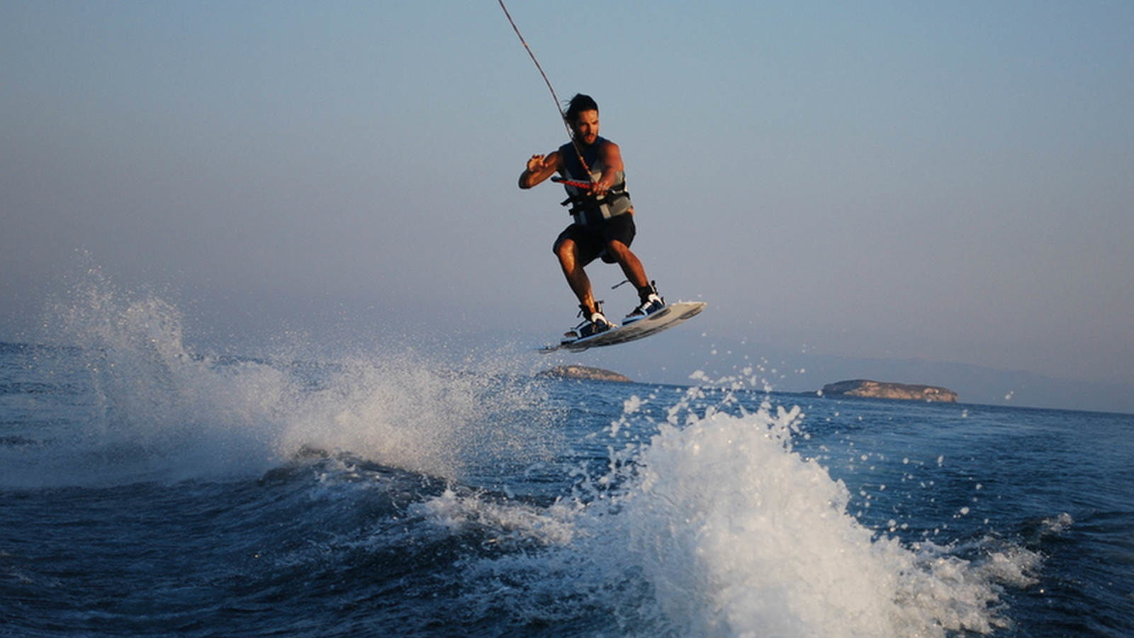 The Westin Resort Costa Navarino Messinia Greece Activities Navarino Sea Wakeboard