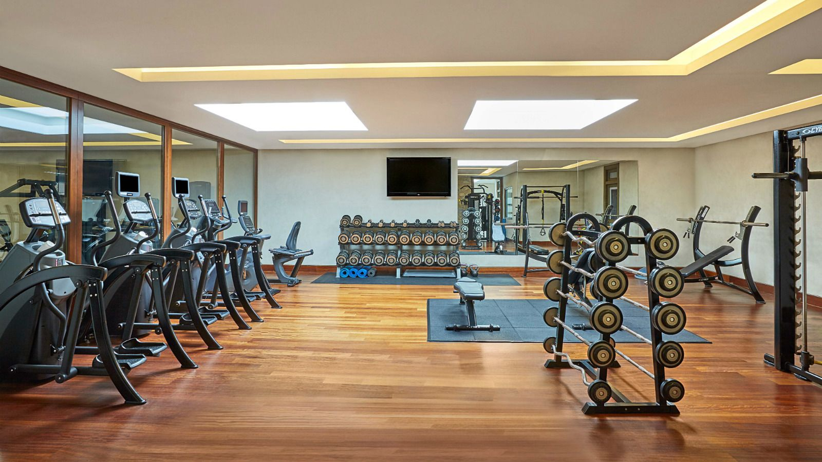 The Westin Resort Costa Navarino WestinWORKOUT Gym Facilities